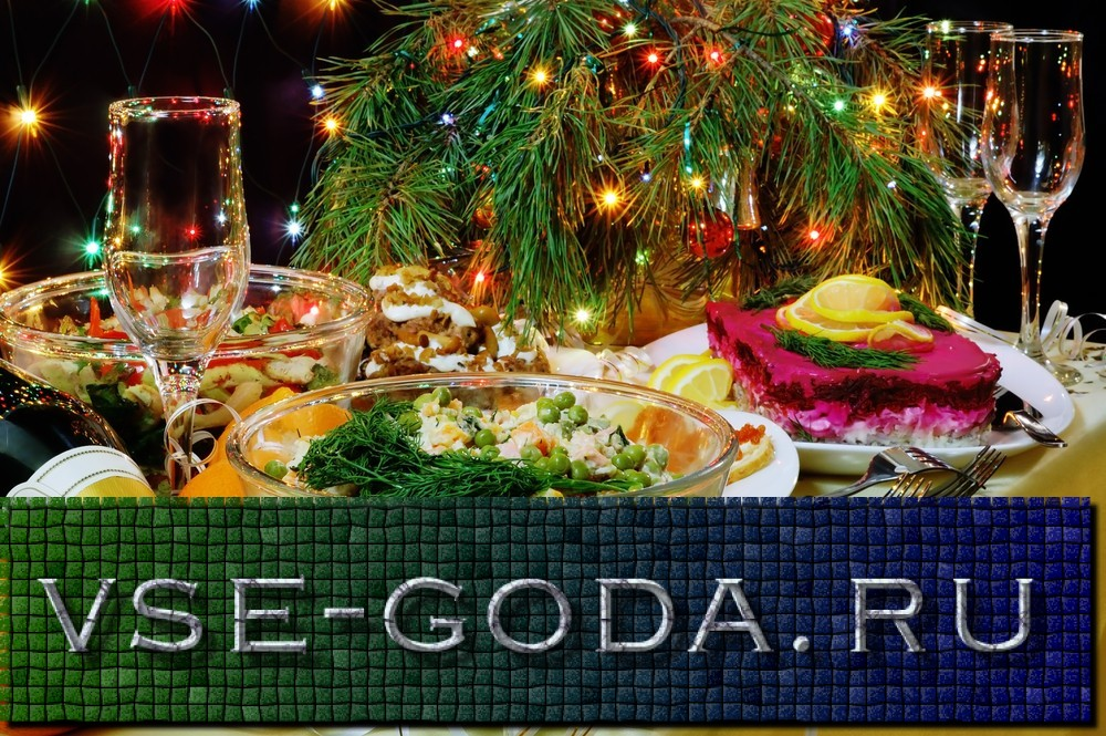 Recepty salatov na Novyj god 2019