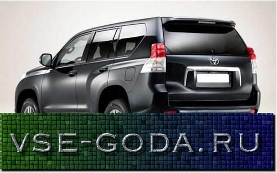 Toyota Land Cruiser Prado 2019 foto (13)