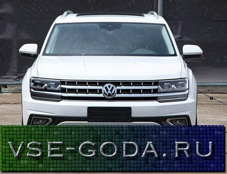 Volkswagen Teramont 2019 foto (2)